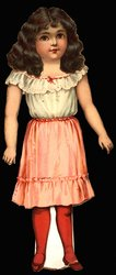 SWEET ALICE, doll, (13 in. version, title on box)
