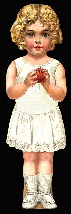 BONNIE BESSIE, doll, title on reverse