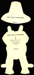 TAFFY WAS A WELSHMAN  (title on reverse)