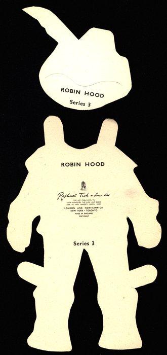 ROBIN HOOD (title on reverse)
