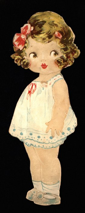 doll (fits clothing marked with an M for Madge)