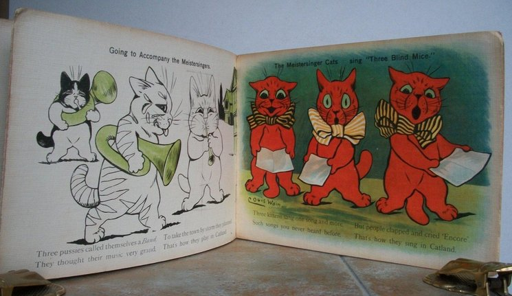 A TRIP TO CATLAND WITH LOUIS WAIN