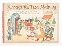 FATHER TUCK'S KINDERGARTEN PAPER MODELLING, SERIES 2 TOYLAND