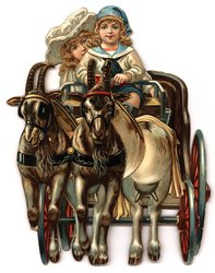 A CARRIAGE AND PAIR