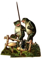 FROGGIE WOULD A WOOING GO!