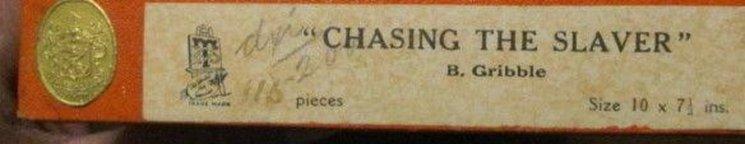 CHASING THE SLAVER