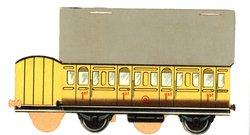1ST class yellow car