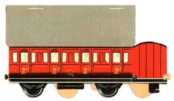2nd class red car