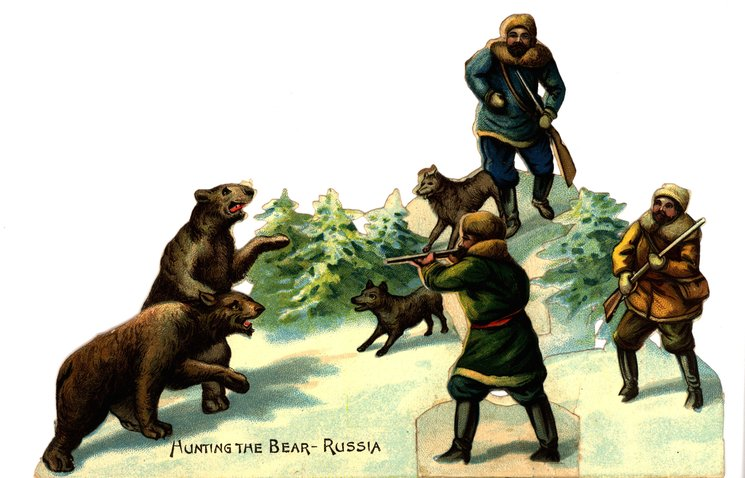 HUNTING THE BEAR-RUSSIA