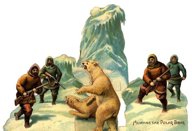 HUNTING THE POLAR BEAR