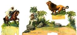 A LION HUNT-INDIA
