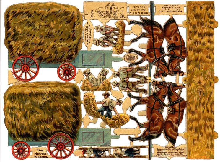 THE HARVEST WAGGON