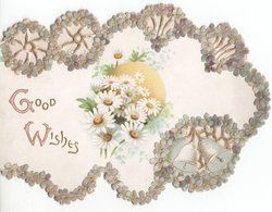 GOOD WISHES (G/W illuminated) daisies to right
