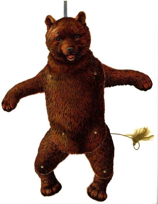 brown bear, no Valentine