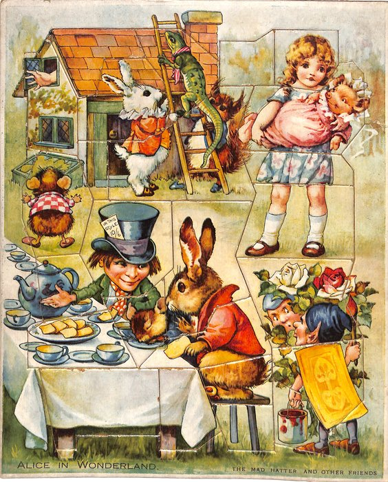 THE MAD HATTER AND OTHER FRIENDS