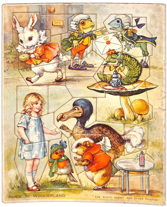 THE WHITE RABBIT AND OTHER FRIENDS