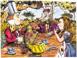 THE MAD HATTER''S TEA PARTY