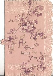 ALL GOOD BETIDE YOU (A/G/Y/ illuminated) violets coming from top