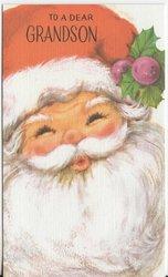 TO A DEAR GRANDSON Santa Claus