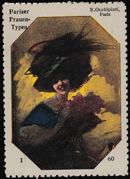 PARISER FRAUEN-TYPEN