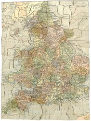 ENGLAND & WALES, map