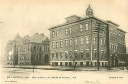 HIGH SCHOOL AND GRAMMAR SCHOOL, 1906