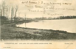 LAKE ANNA AND LAKE AVENUE LOOKING NORTH, 1906