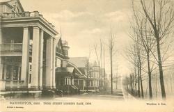THIRD STREET LOOKING EAST, 1906