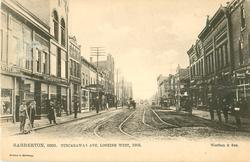 TUSCARAWAS AVE. LOOKING WEST 1906
