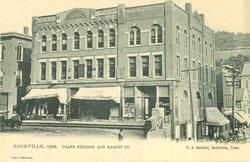 DOANE BUILDING AND MARKET ST.