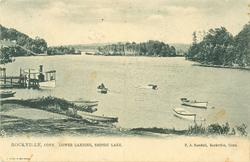 LOWER LANDING, SNIPSIC LAKE