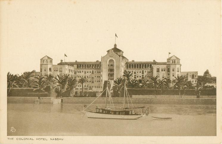 THE COLONIAL HOTEL, NASSAU
