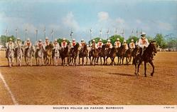 MOUNTED POLICE ON PARADE
