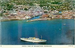 AERIAL VIEW OF BRIDGETOWN