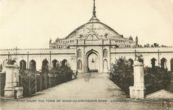 SHAH NAJAF THE TOMB OF GHAZI-UD-DIN-HAIDER KHAN