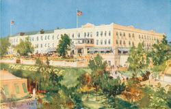 THE ST. GEORGE HOTEL, ST. GEORGES, BERMUDA