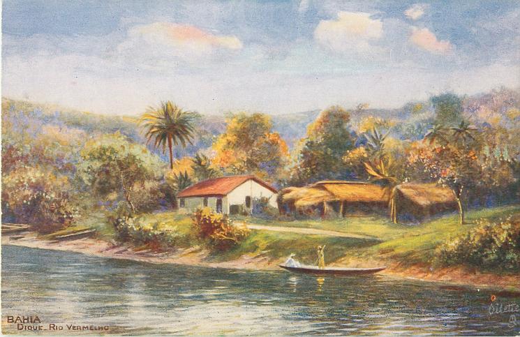 DIQUE, RIO VERMELHO