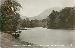 RUPUNUNI RIVER AND KANUKU MOUNTAINS