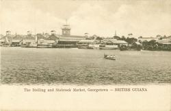 THE STELLING AND STABROEK MARKET, GEORGETOWN