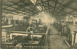 INTERIOR VIEW OF SUGAR FACTORY