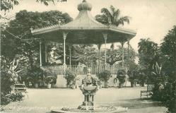 BAND STAND, PROMENADE GARDENS  close up