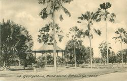 BAND STAND, PROMENADE GARDENS  distant view