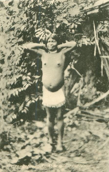 AN ABORIGINAL INDIAN