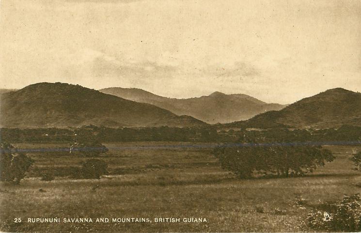 RUPUNUNI SAVANNA AND MOUNTAINS