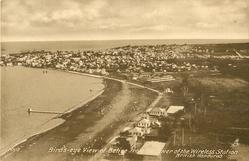 BIRD'S EYE VIEW OF BELIZE FROM THE TOWER OF THE WIRELESS STATION