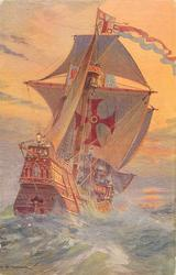THE CARAVELS OF COLUMBUS