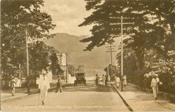 QUEEN STREET, ROSEAU, SHOWING COURT HOUSE ON THE LEFT