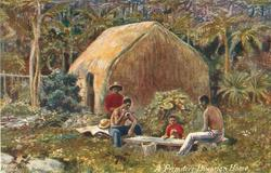 A PRIMITIVE HAWAIIAN HOME