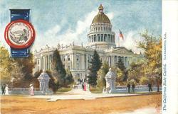 THE CALIFORNIA STATE CAPITOL, SACRAMENTO, CAL