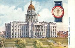 THE COLORADO STATE CAPITOL, DENVER, COL